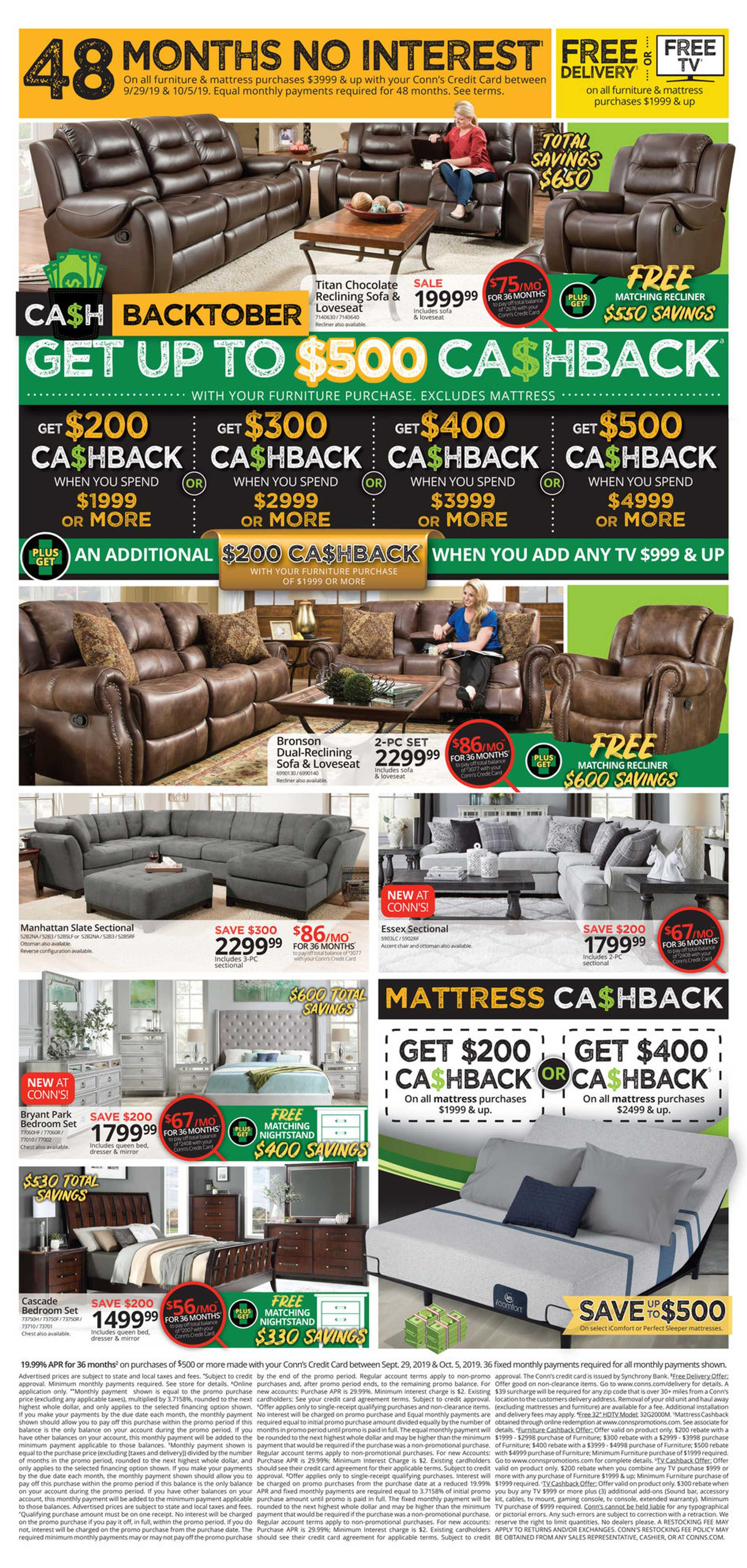 Phenomenal Current Flyer Of Conns Homeplus Us Promotons Com Ibusinesslaw Wood Chair Design Ideas Ibusinesslaworg