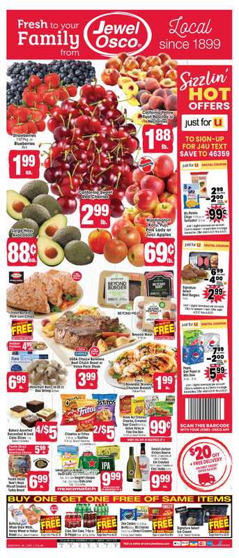 Jewel Osco - deals are valid from 06/02/21 to 06/08/21 - page 1.