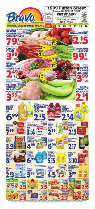 Bravo - deals are valid from 07/23/21 to 07/29/21 - page 1.