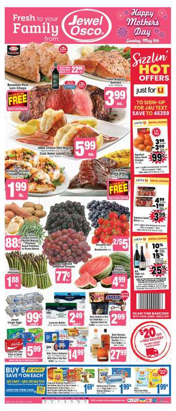 Jewel Osco - deals are valid from 05/05/21 to 05/11/21 - page 1.