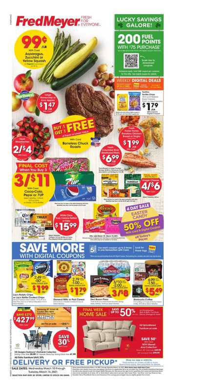 Fred Meyer - deals are valid from 03/10/21 to 03/16/21 - page 1.