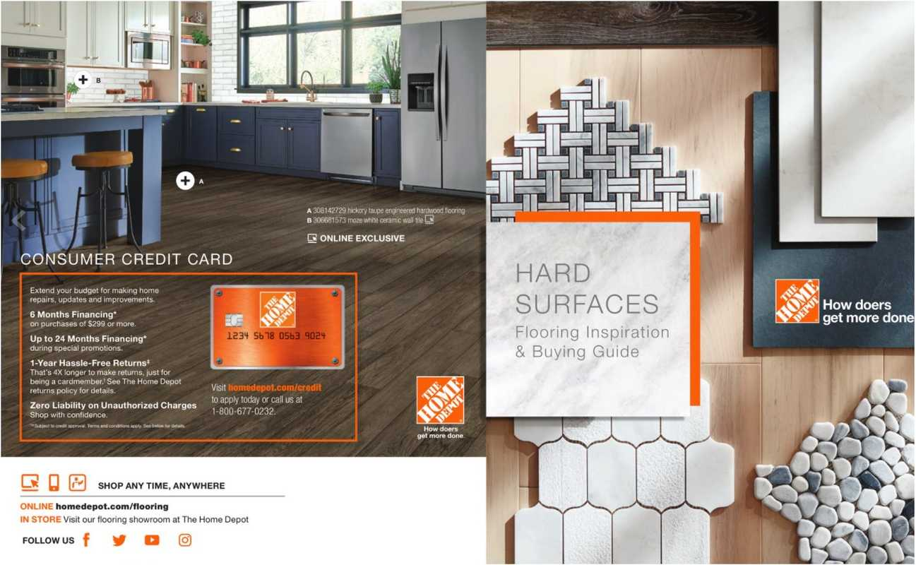 The Home Depot - deals are valid from 10/16/20 to 03/31/21 - page 1.