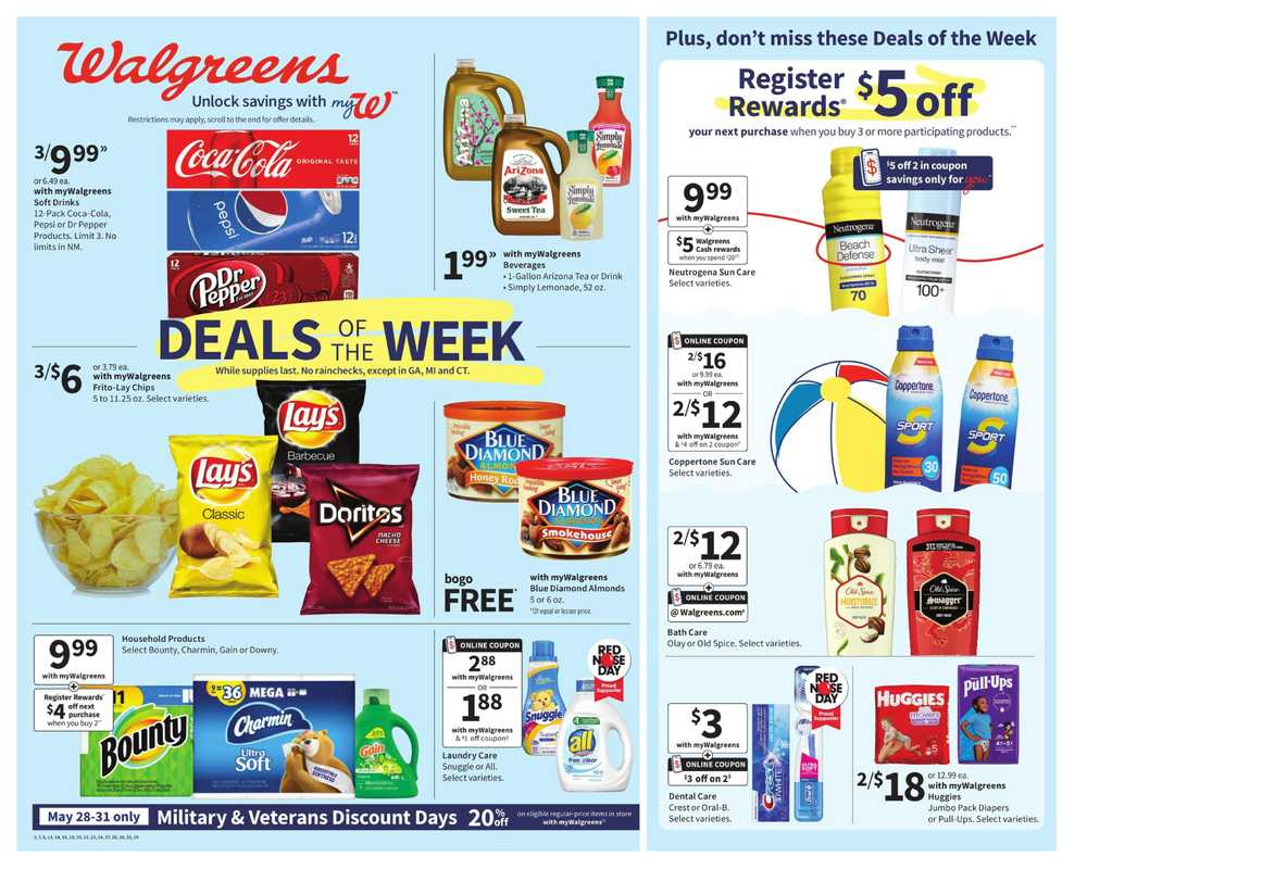 Walgreens - deals are valid from 05/23/21 to 05/29/21 - page 1.