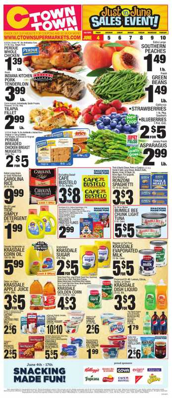 C-Town - deals are valid from 06/04/21 to 06/10/21 - page 1.