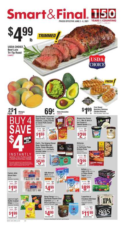 Smart & Final - deals are valid from 06/02/21 to 06/08/21 - page 1.