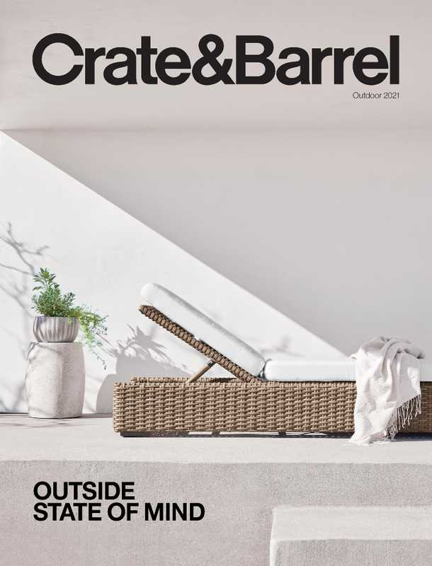 Crate & Barrel - deals are valid from 06/01/21 to 08/31/21 - page 1.