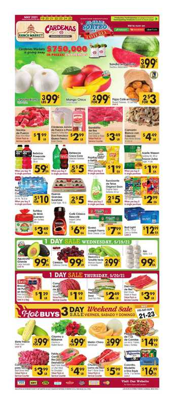 Cardenas - deals are valid from 05/19/21 to 05/26/21 - page 1.