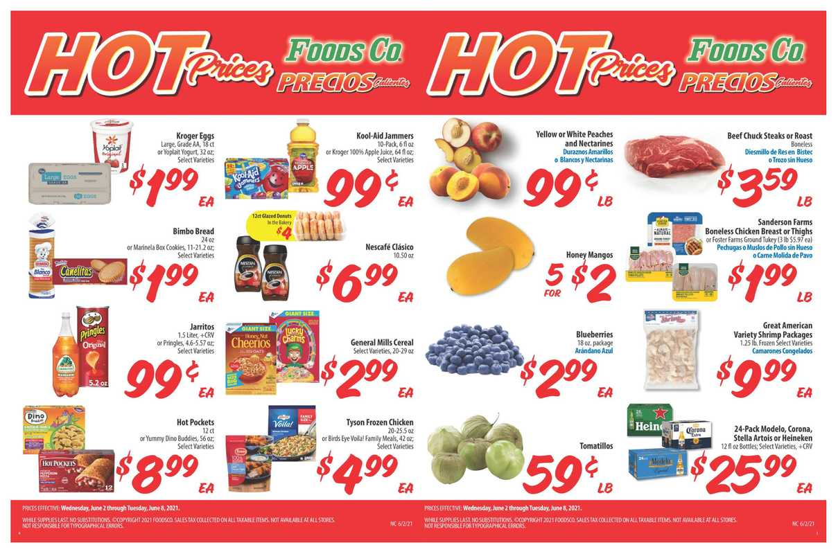 Foods Co. - deals are valid from 06/02/21 to 06/08/21 - page 1.