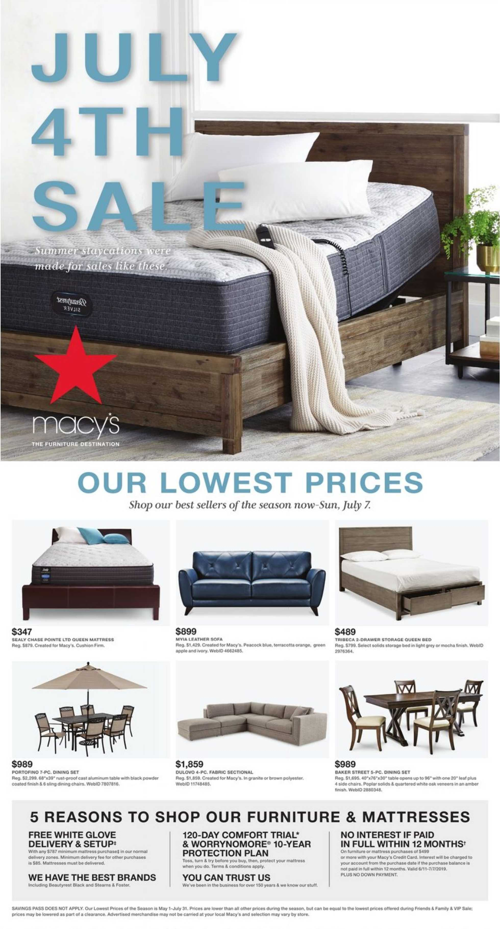 Phenomenal Current Flyer Of Macys Us Promotons Com Caraccident5 Cool Chair Designs And Ideas Caraccident5Info