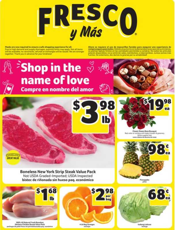 Fresco y Más - deals are valid from 02/10/21 to 02/17/21 - page 1.