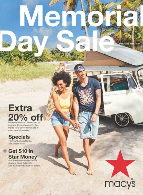 Macy's - deals are valid from 05/27/21 to 05/31/21 - page 1.