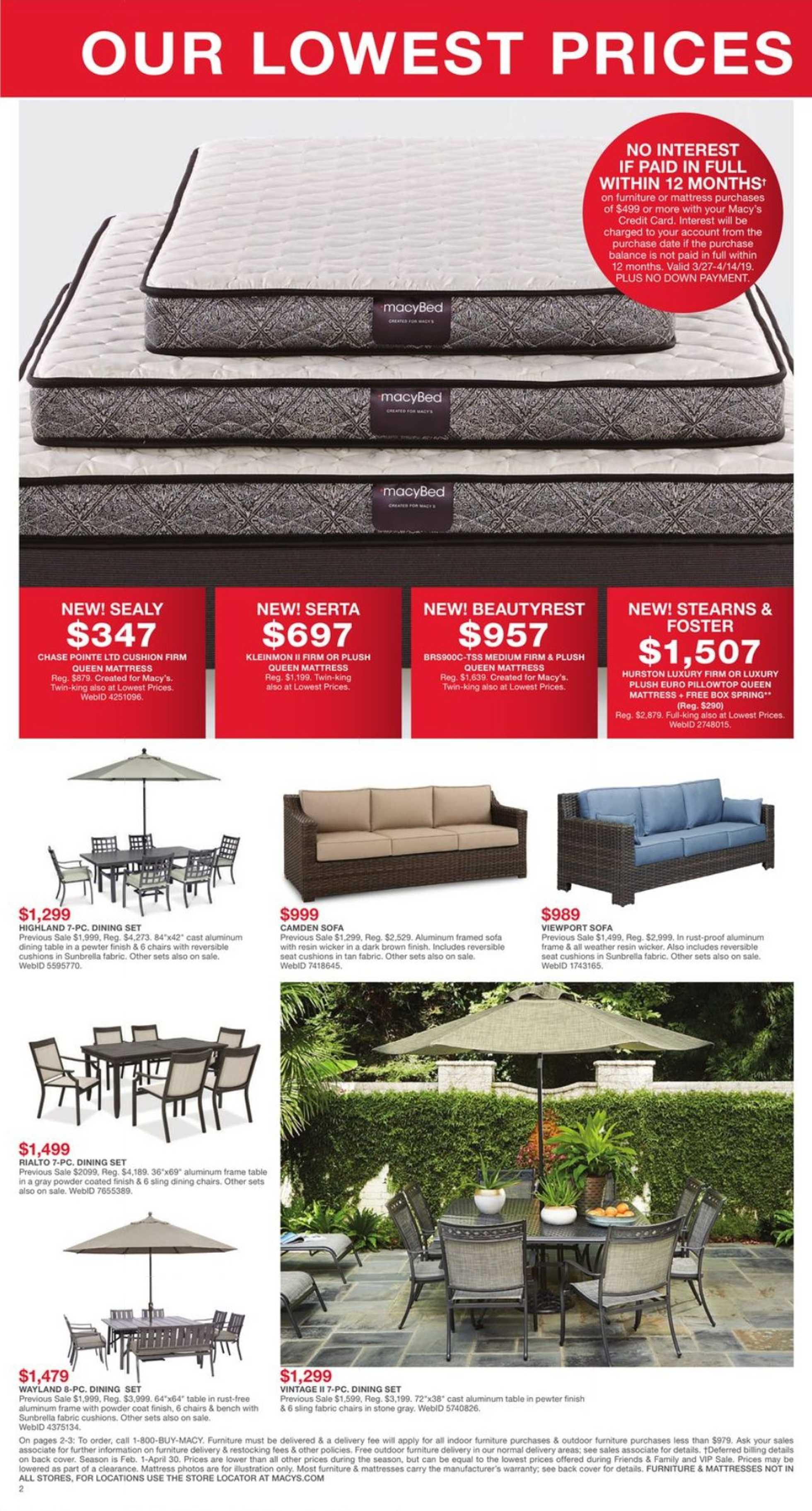 Magnificent Current Flyer Of Macys Us Promotons Com Ocoug Best Dining Table And Chair Ideas Images Ocougorg