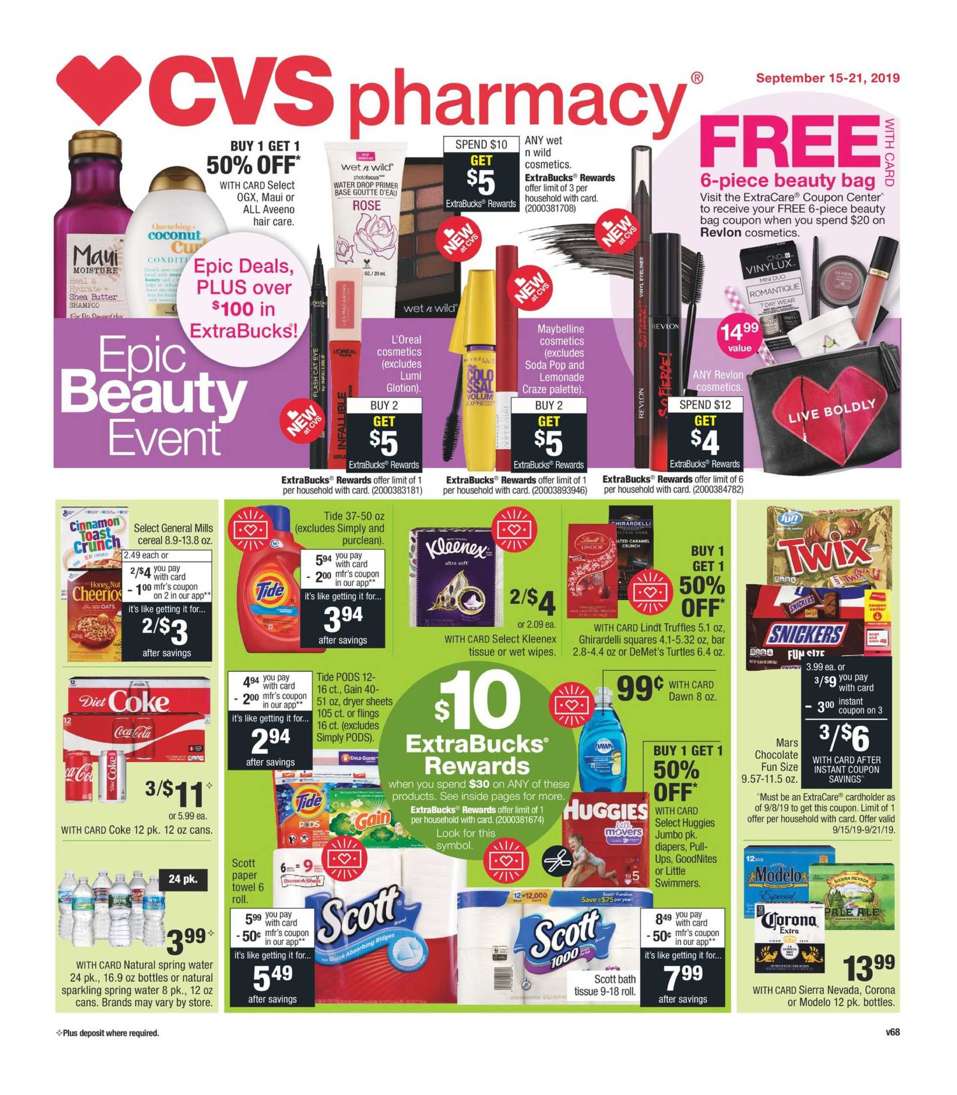 CVS - promo starting from 09/15/19 - page 1