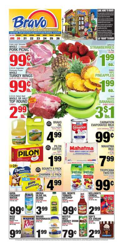 Bravo - deals are valid from 06/20/19 to 06/26/19 - page 1.