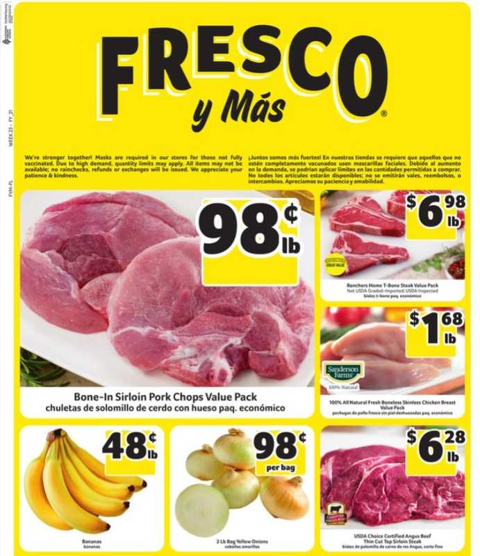 Fresco y Más - deals are valid from 06/02/21 to 06/08/21 - page 1.