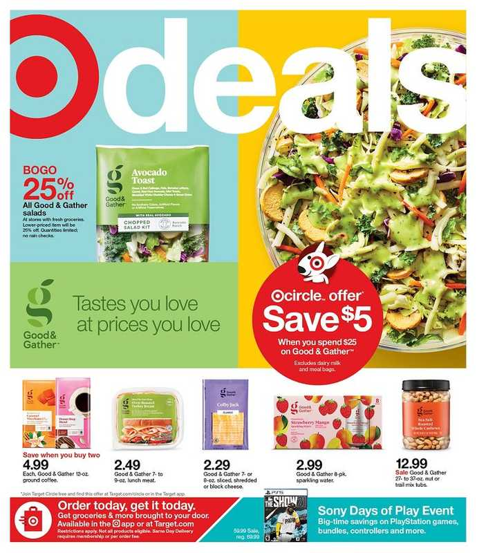 Target - deals are valid from 06/06/21 to 06/12/21 - page 1.