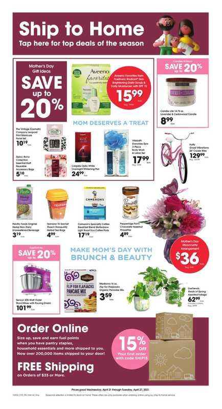 Fry's Food - deals are valid from 04/21/21 to 04/27/21 - page 1.