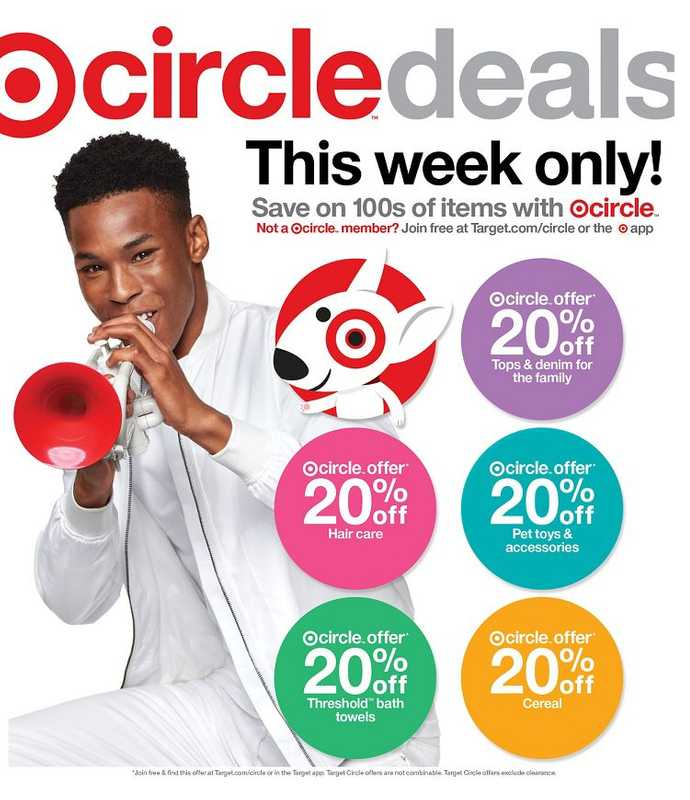 Target - deals are valid from 09/19/21 to 09/25/21 - page 1.