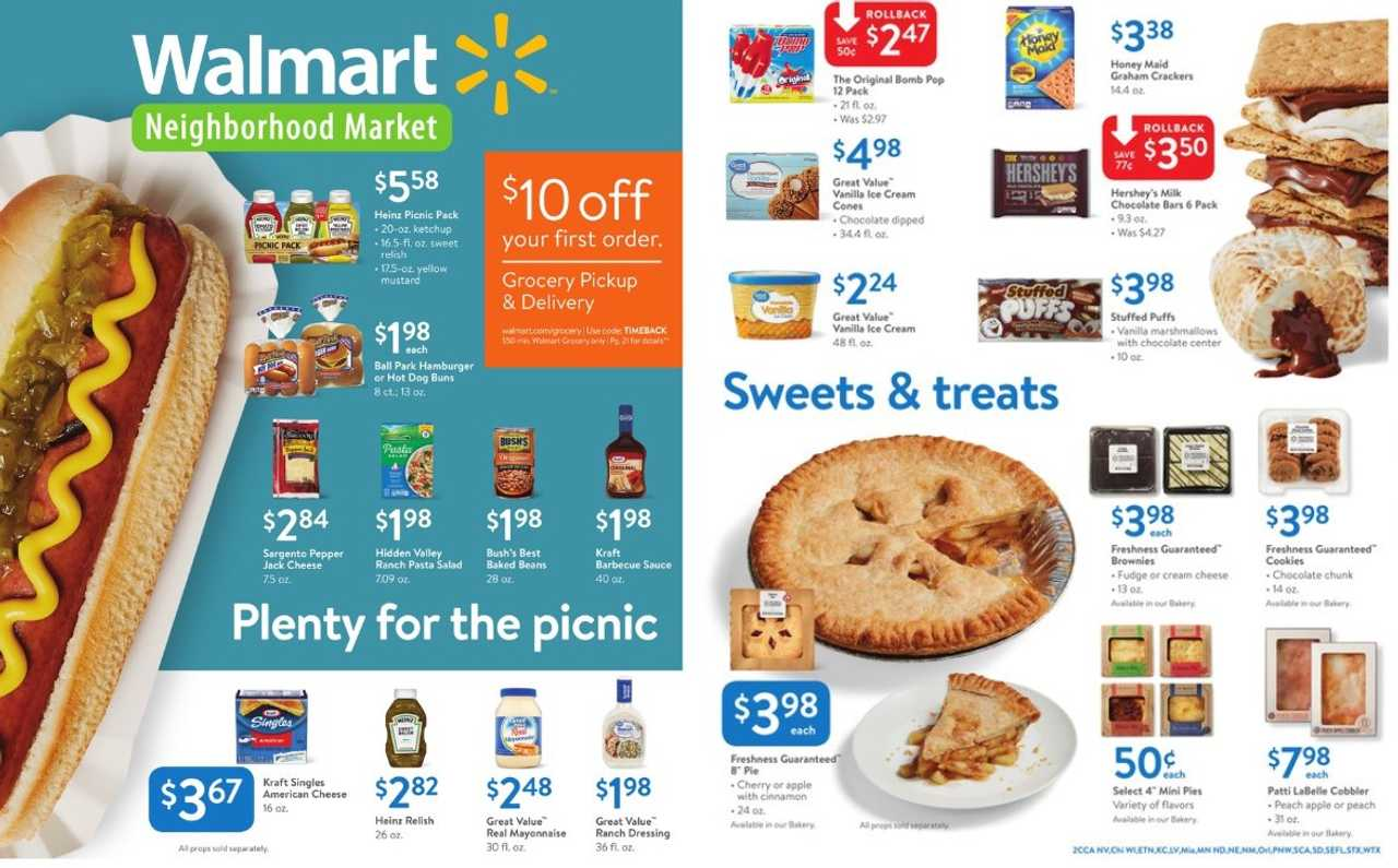 Walmart - promo starting from 2019-06-09 - page 1