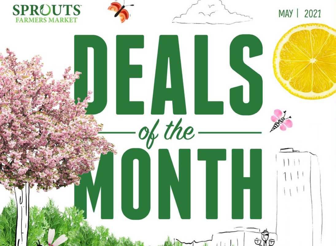 Sprouts - deals are valid from 04/28/21 to 05/25/21 - page 1.