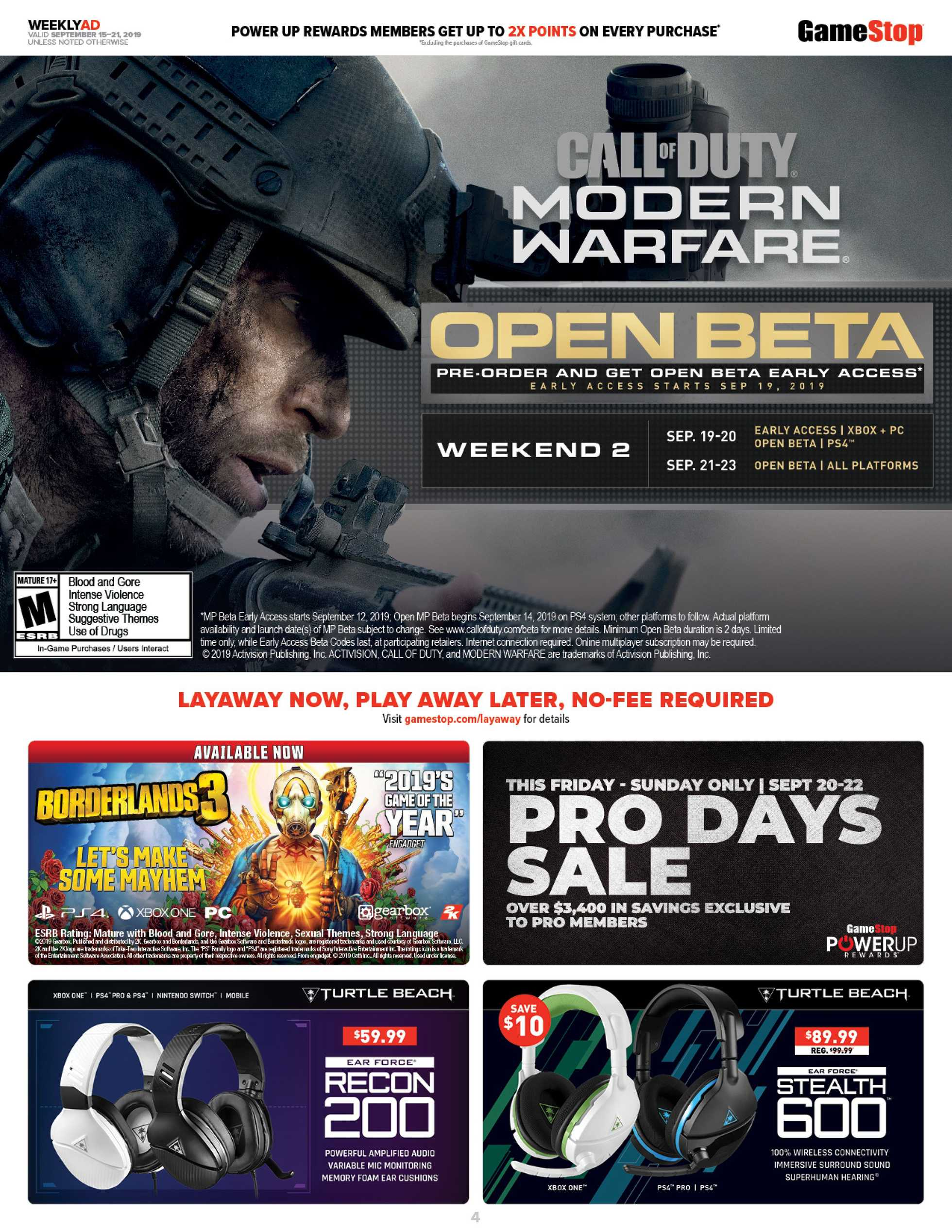 GameStop - promo starting from 09/15/19 - page 4