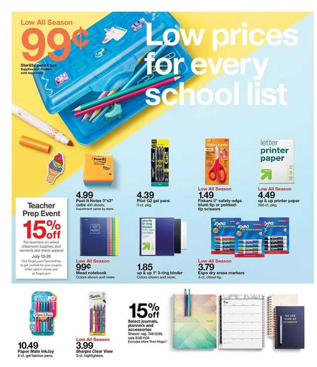 Target - promo starting from 2019-07-14 - page 4