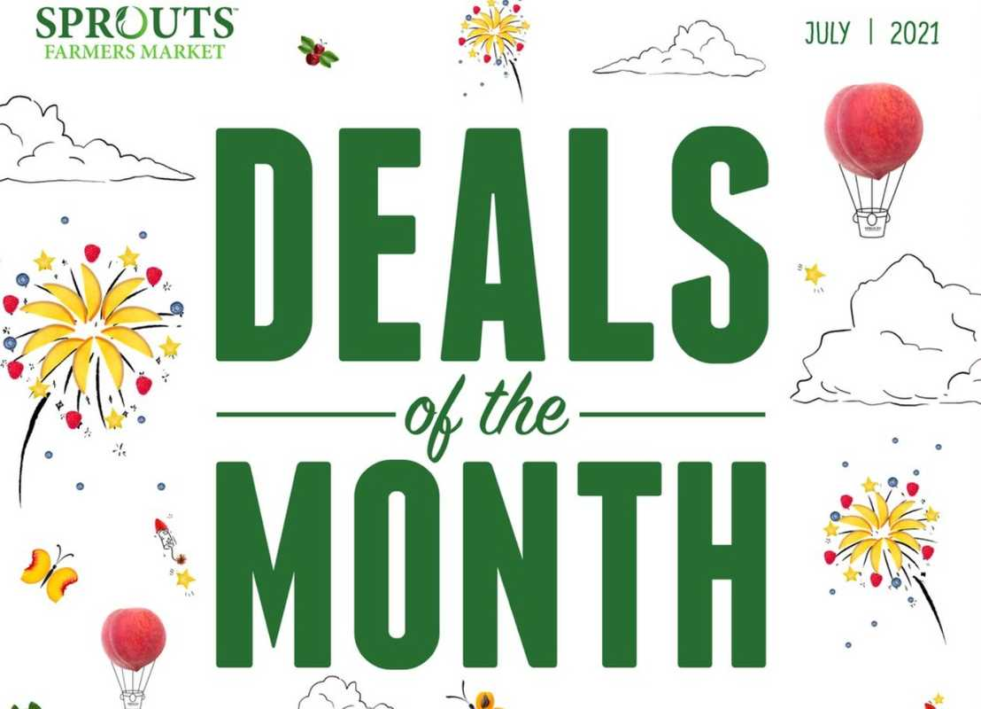 Sprouts - deals are valid from 06/23/21 to 07/27/21 - page 1.