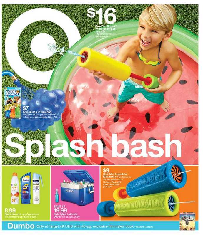 Target - deals are valid from 06/23/19 to 06/29/19 - page 1.