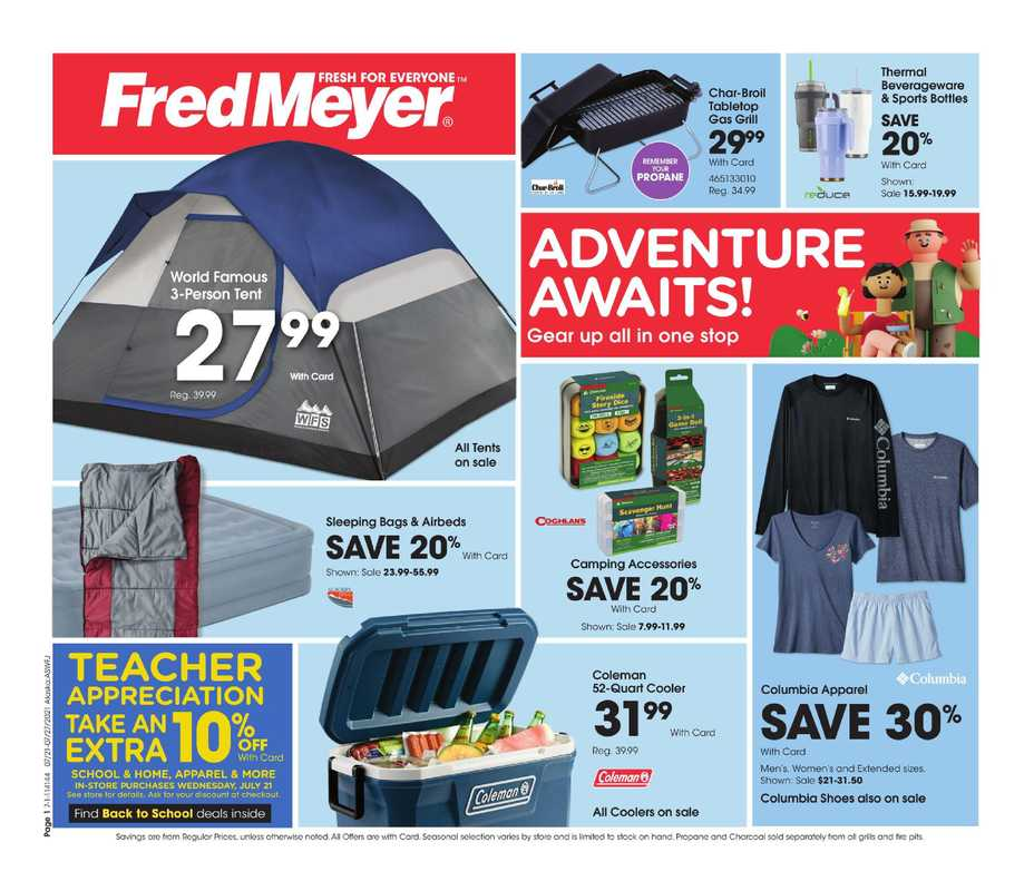Fred Meyer - deals are valid from 07/21/21 to 07/27/21 - page 1.