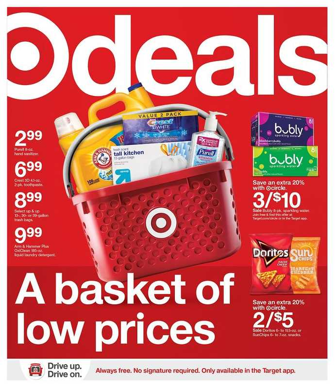 Target - deals are valid from 01/17/21 to 01/23/21 - page 1.
