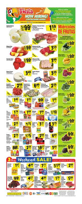 Fiesta Mart - deals are valid from 05/12/21 to 05/18/21 - page 1.