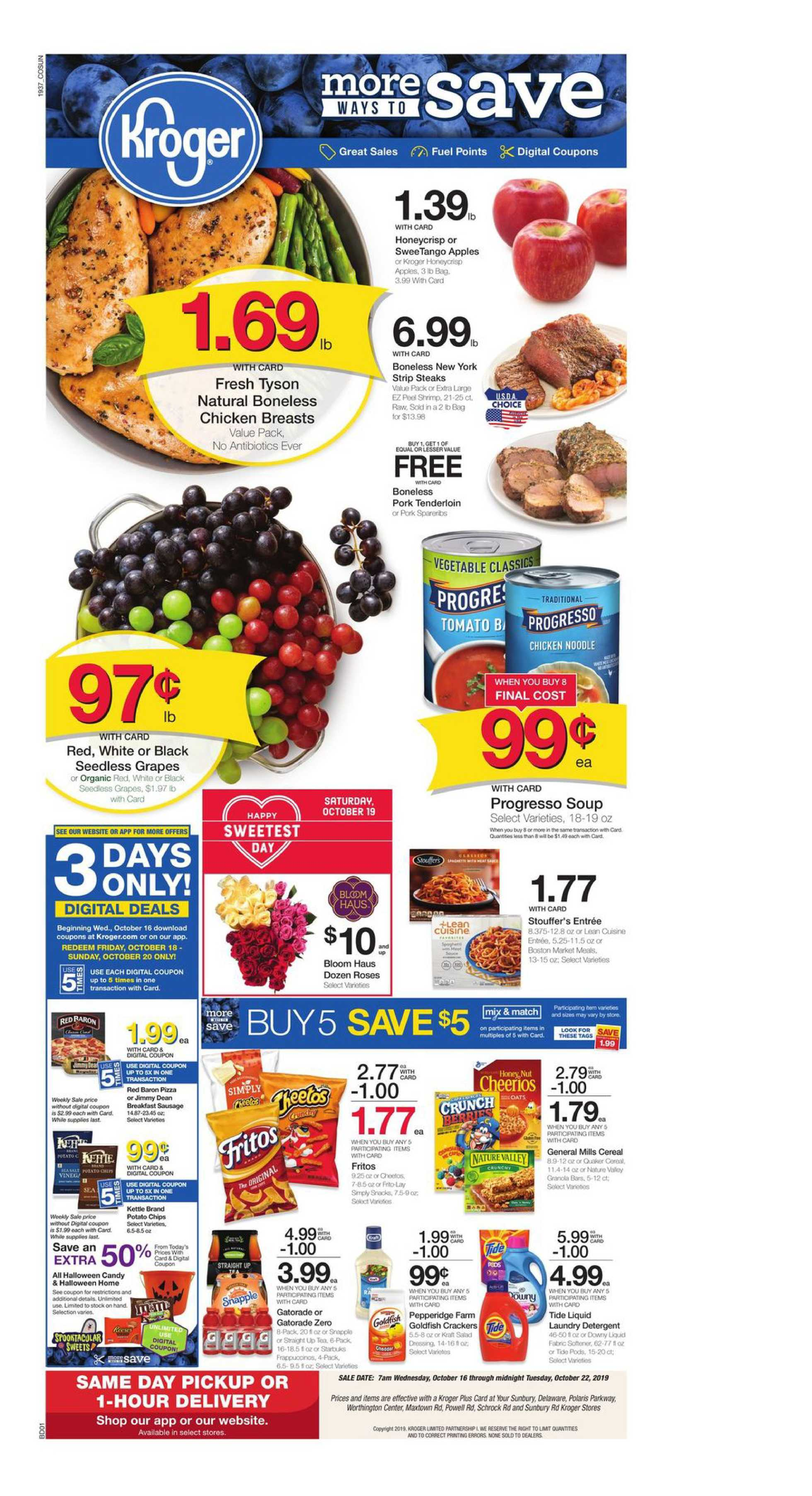Kroger - promo starting from 10/16/19 - page 1
