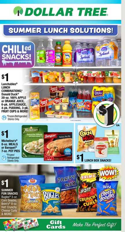 Dollar Tree - deals are valid from 06/13/21 to 06/20/21 - page 1.