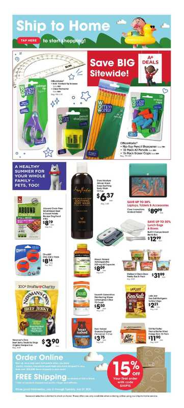 King Soopers - deals are valid from 07/21/21 to 07/27/21 - page 1.