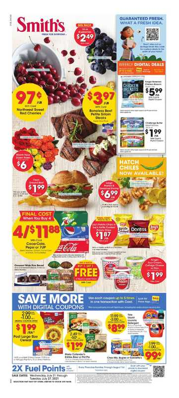 Smith's - deals are valid from 07/21/21 to 07/27/21 - page 1.