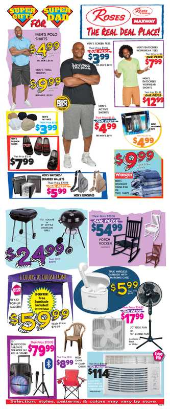 Roses Discount Store - deals are valid from 05/25/21 to 07/01/21 - page 1.