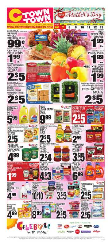 C-Town - deals are valid from 05/07/21 to 05/13/21 - page 1.