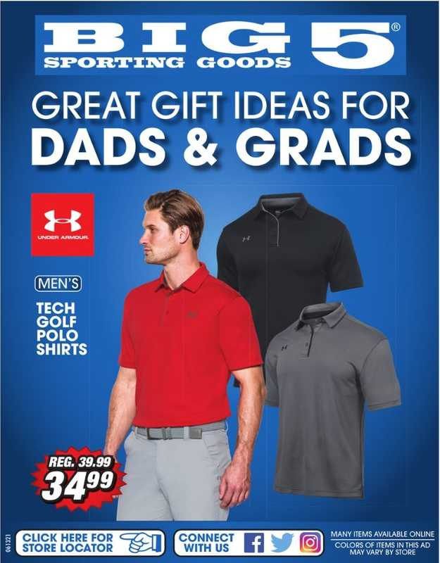 Big 5 Sporting Goods - deals are valid from 06/13/21 to 06/20/21 - page 1.