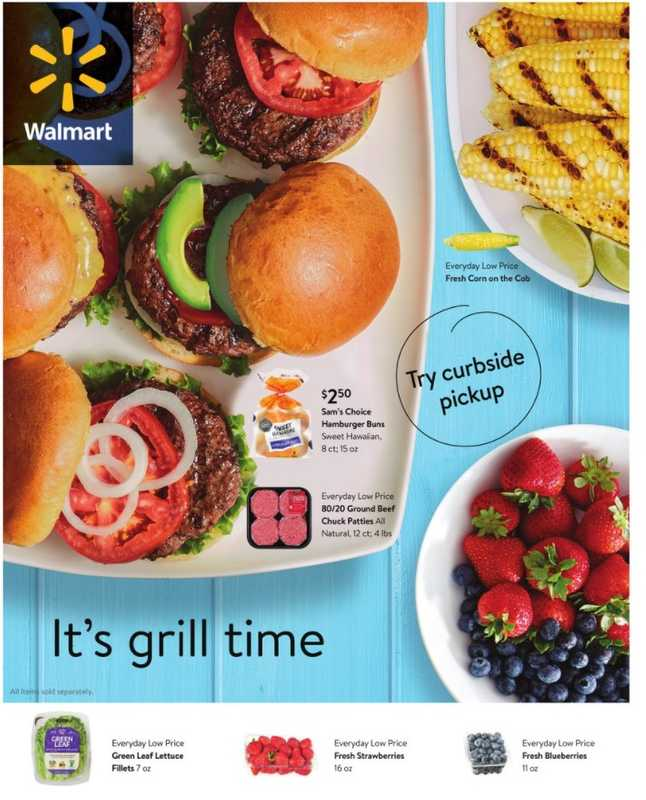 Walmart - deals are valid from 04/28/21 to 06/01/21 - page 1.
