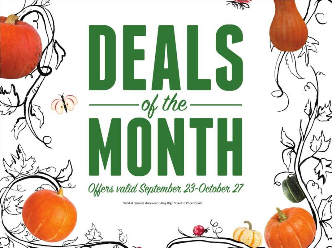 Sprouts - deals are valid from 09/23/20 to 10/28/20 - page 1.