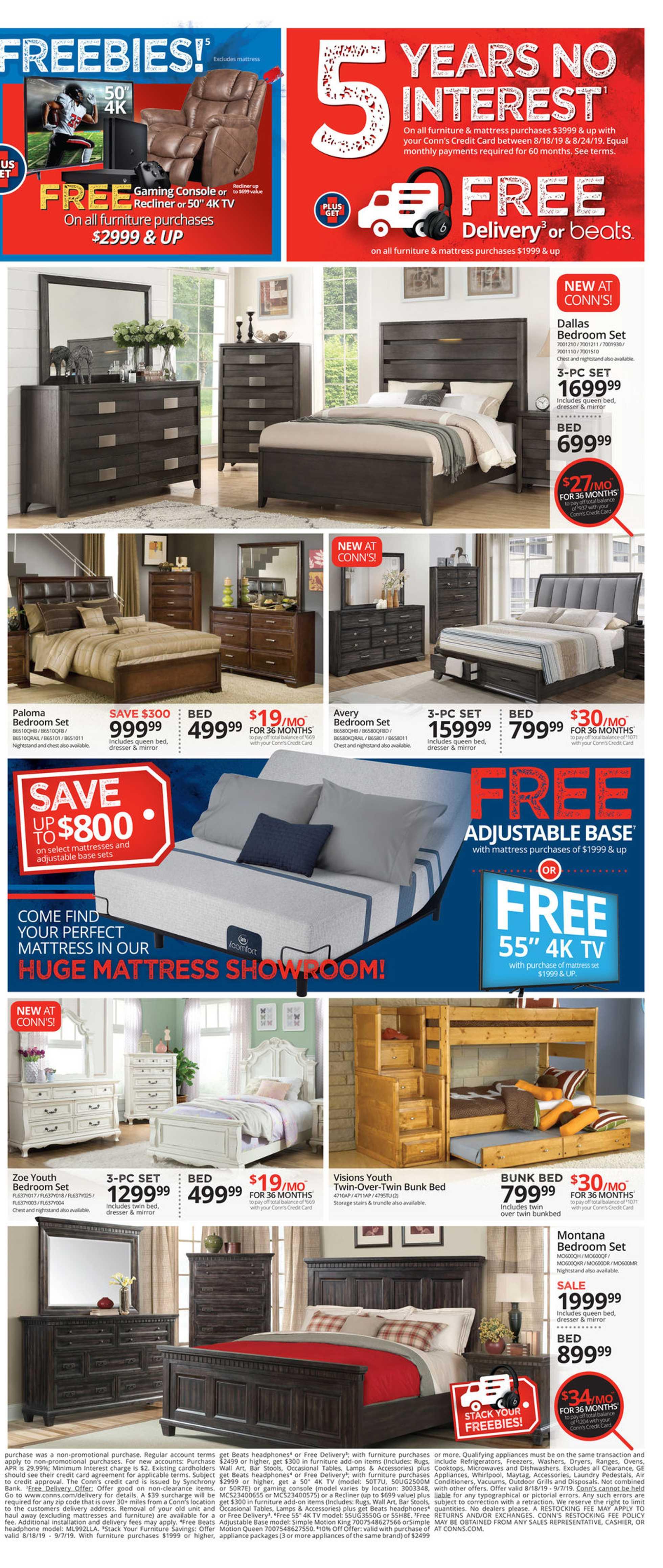 Cool Current Flyer Of Conns Homeplus Us Promotons Com Lamtechconsult Wood Chair Design Ideas Lamtechconsultcom