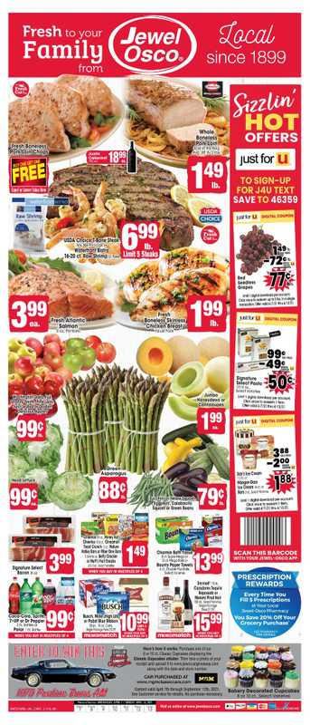 Jewel Osco - deals are valid from 04/07/21 to 04/13/21 - page 1.
