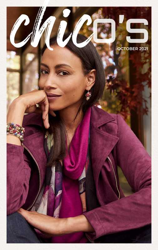 Chico's - deals are valid from 10/01/21 to 10/31/21 - page 1.