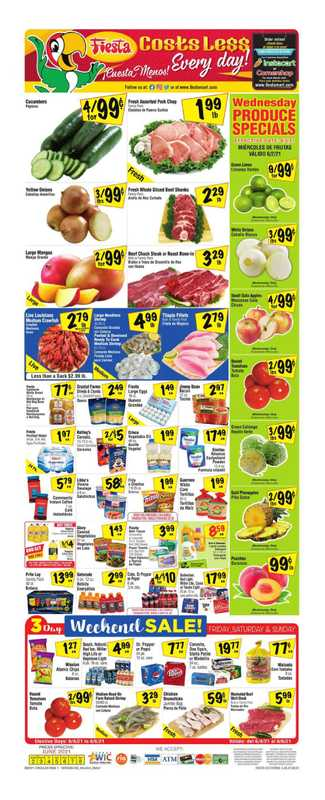 Fiesta Mart - deals are valid from 06/02/21 to 06/08/21 - page 1.