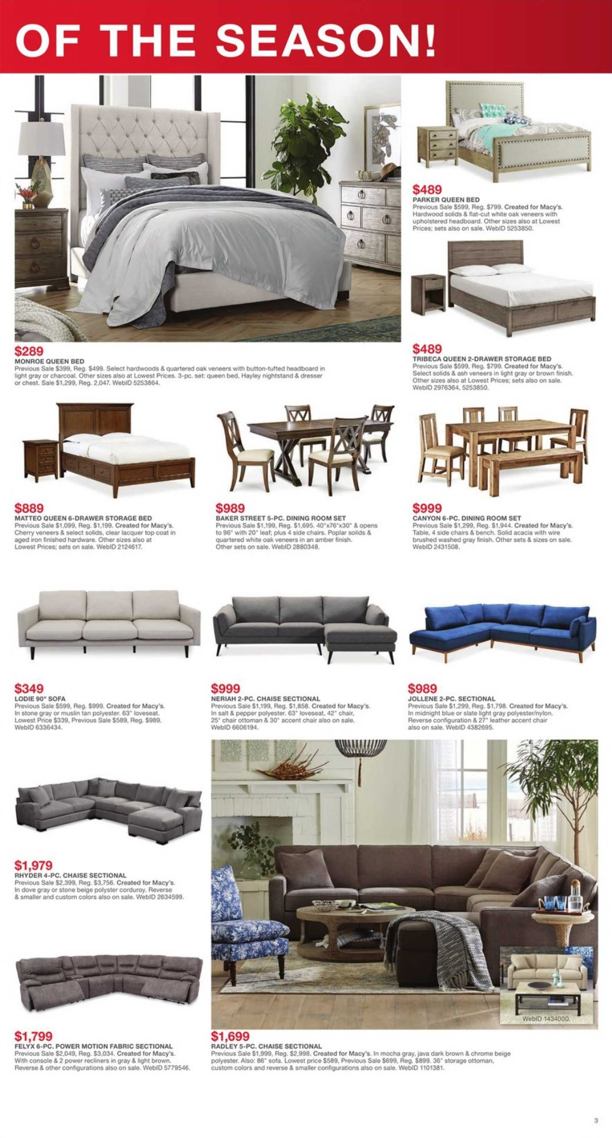 Wondrous Current Flyer Of Macys Us Promotons Com Ocoug Best Dining Table And Chair Ideas Images Ocougorg