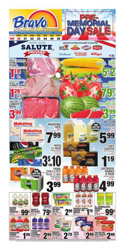 Bravo - deals are valid from 05/20/21 to 05/26/21 - page 1.