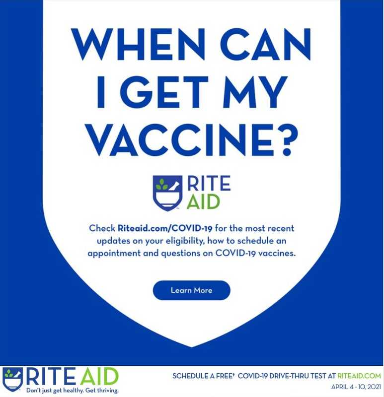 Rite Aid - deals are valid from 04/04/21 to 04/10/21 - page 1.