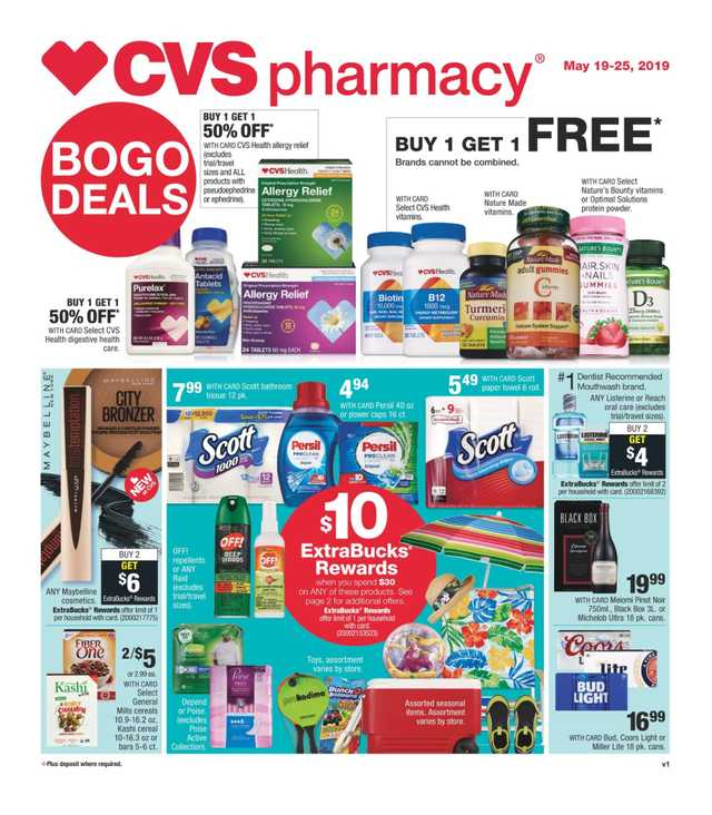 CVS - promo starting from 2019-05-19 - page 1