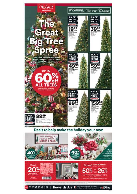 Michaels - deals are valid from 11/08/20 to 11/14/20 - page 1.