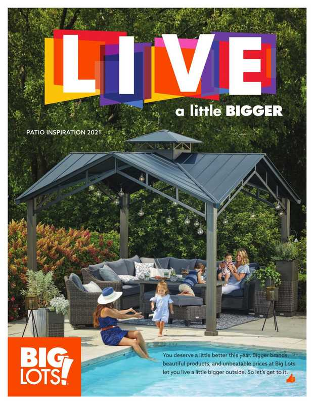 Big Lots - deals are valid from 03/18/21 to 08/15/21 - page 1.